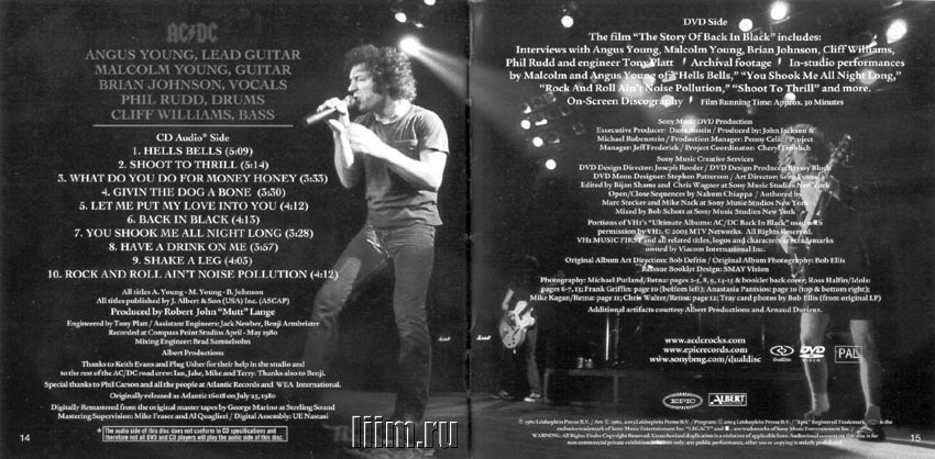 AC/DC. Back In Black (1980). Photo 8