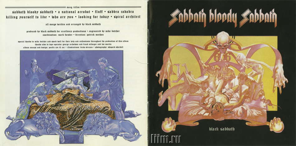 Black Sabbath. Sabbath Bloody Sabbath (1973). Photo 1
