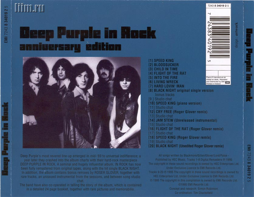 Deep Purple. In Rock (1970) Photo 3