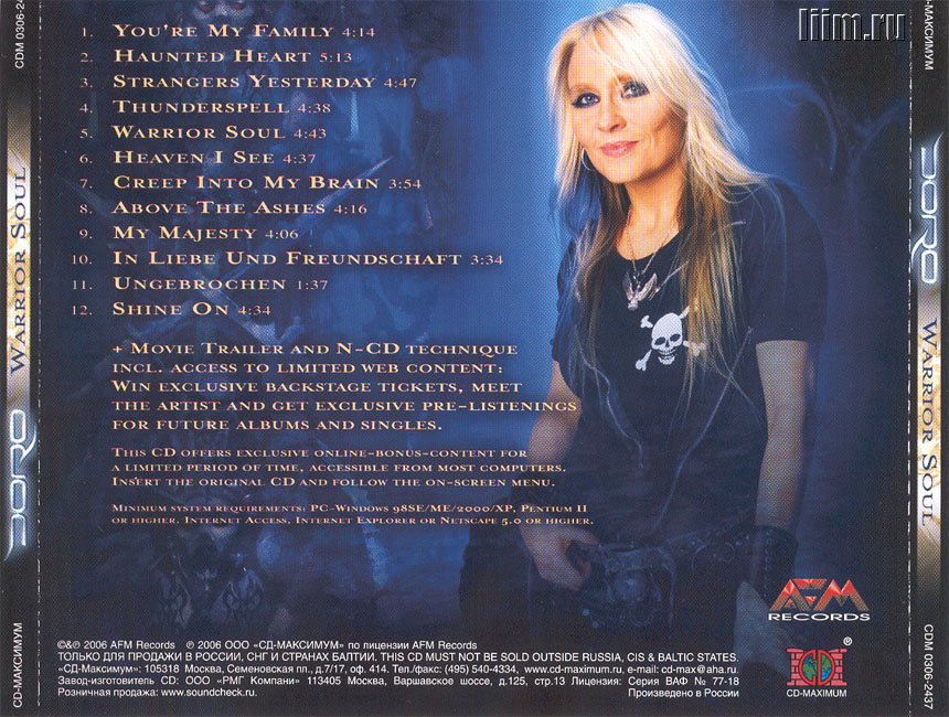 Doro. Warrior soul (2006). Photo 11