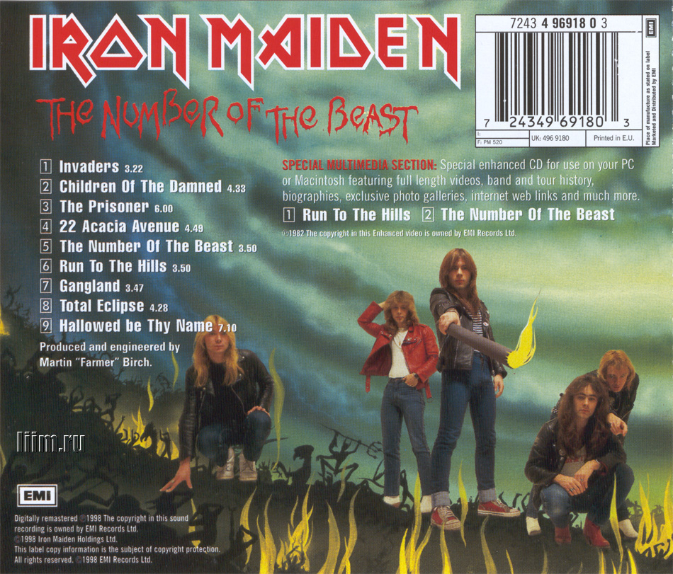 Iron Maiden. The Number Of The Beast. Photo 13