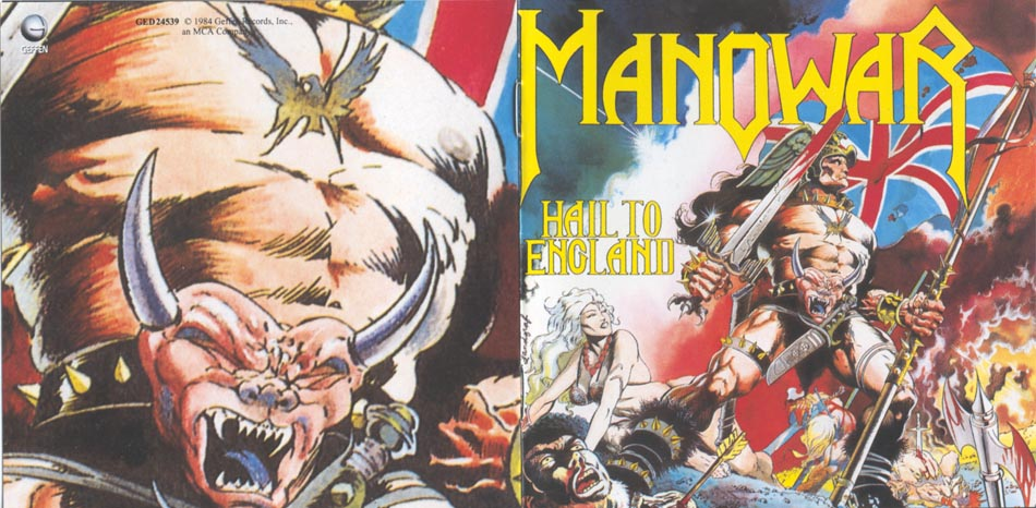 Manowar. Hail To England (1984) Photo 01